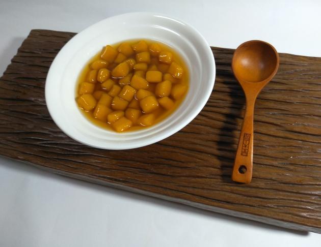 地瓜圓 sweet potato ball 1